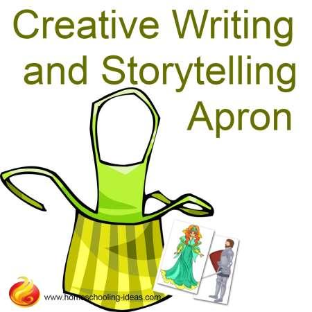Creative Writing and Storytelling Apron Idea