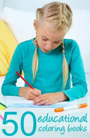 educational coloring books for kids