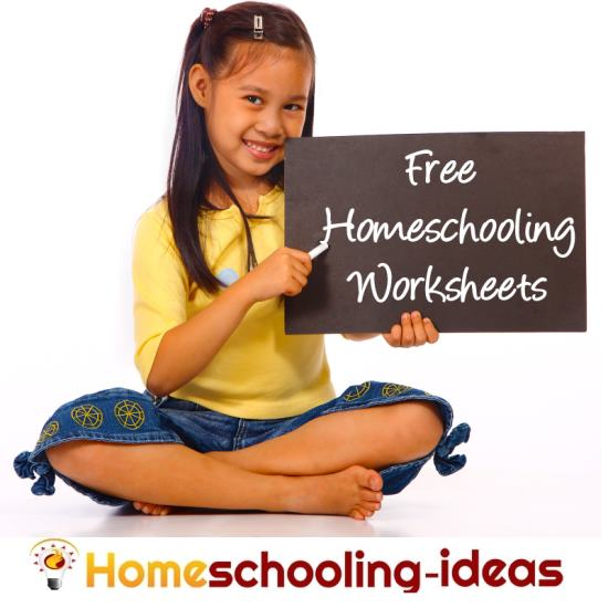 Free Homeschooling Worksheets - Find your Perfect Homeschool Worksheet