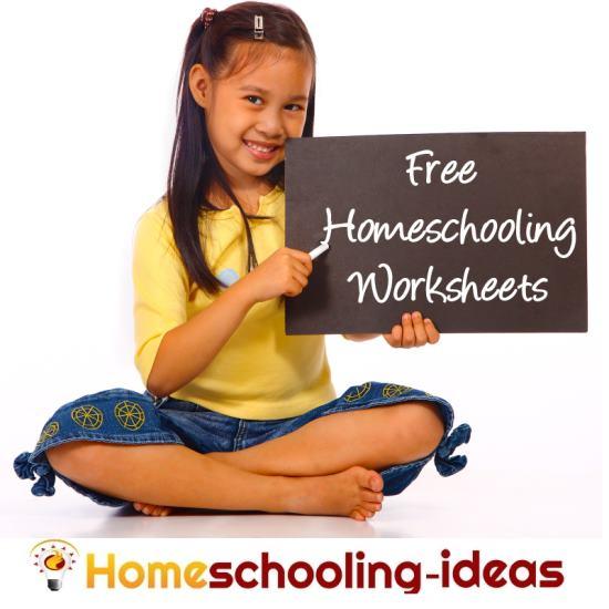 Free Homeschooling Worksheets