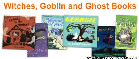 Witches, Goblin and Ghost Books