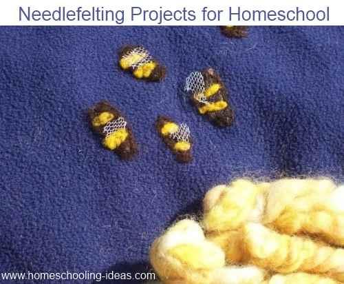 Needlefelting Crafts for Homeschool