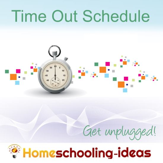 Homeschool Schedule - Time Out