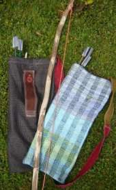 Homeschooling Boys - bows, arrows and quiver