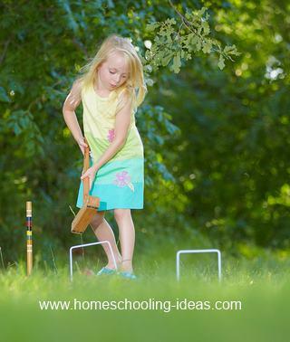 Kids Sports Activities - Croquet