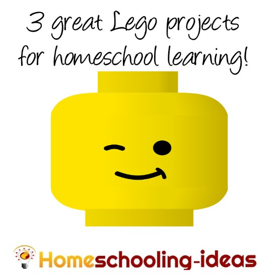 Lego projects and ideas for homeschool