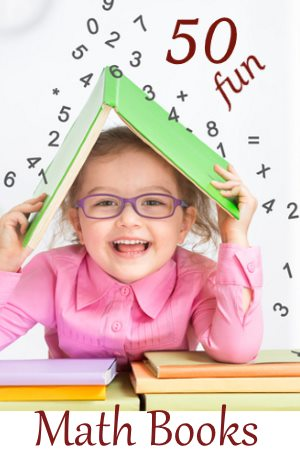50 fun maths books for kids homeschooling