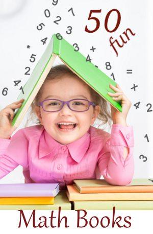 50 fun maths books for kids homeschooling