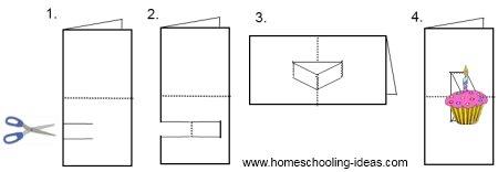 pop up book instructions