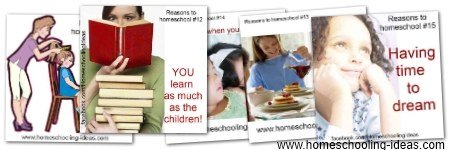 5 More Reasons to Homeschool