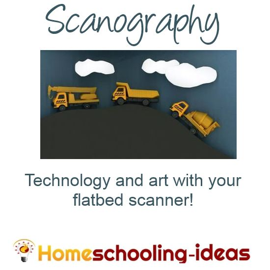 Scanography - art with your flatbed scanner