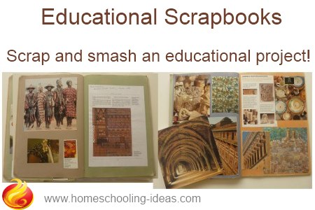 Homeschool Educational Scrapbooks
