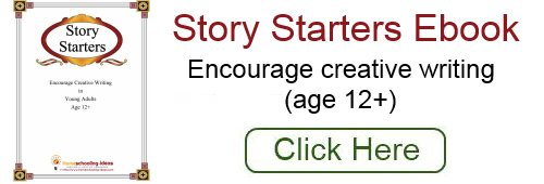 Homeschool Writing - Story Starter Prompts