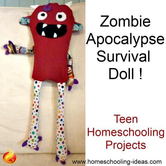 DIY Zombie Apocalypse Survival Doll