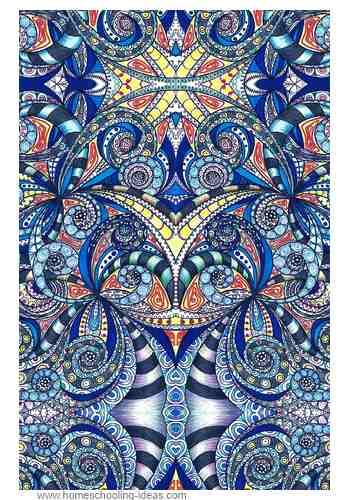 Zentangle Patterns Ideas Real Zentangle Patterns Ideas